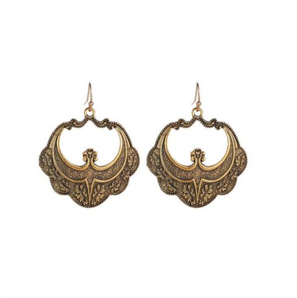 Ohrringe Paar altmessing 45mm