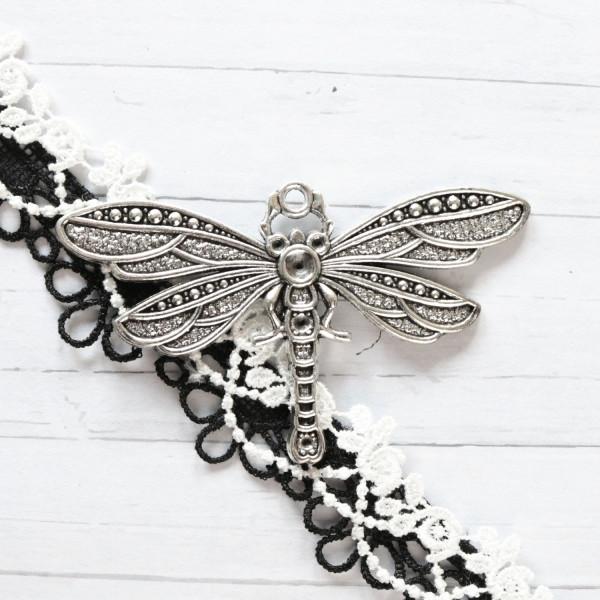Anhänger Libelle Silber