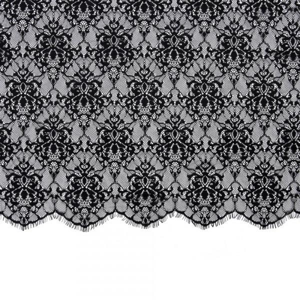 Spitzenstoff 3m schwarz