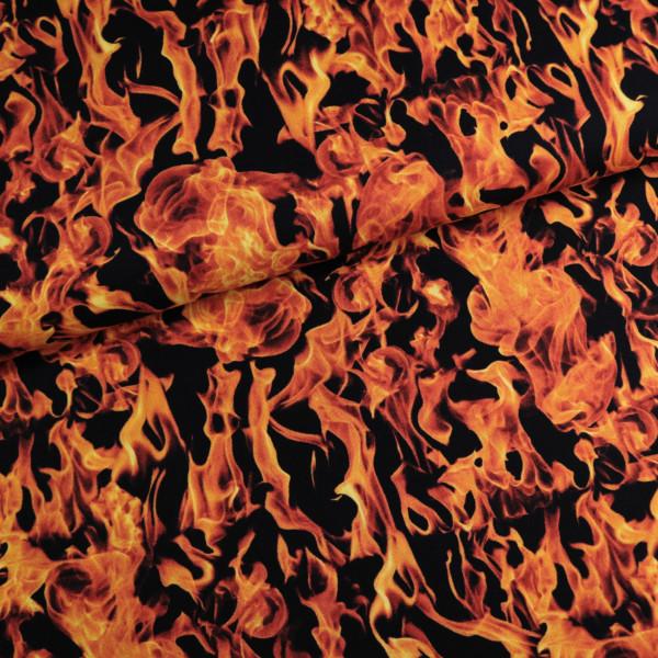 Baumwollstoff Feuer