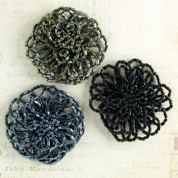 Blume Blüten aus Perlen 5cm