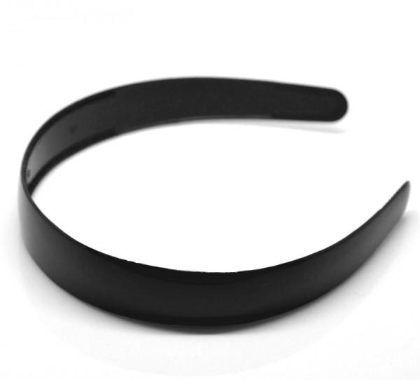 Haarreif schwarz 25mm breit