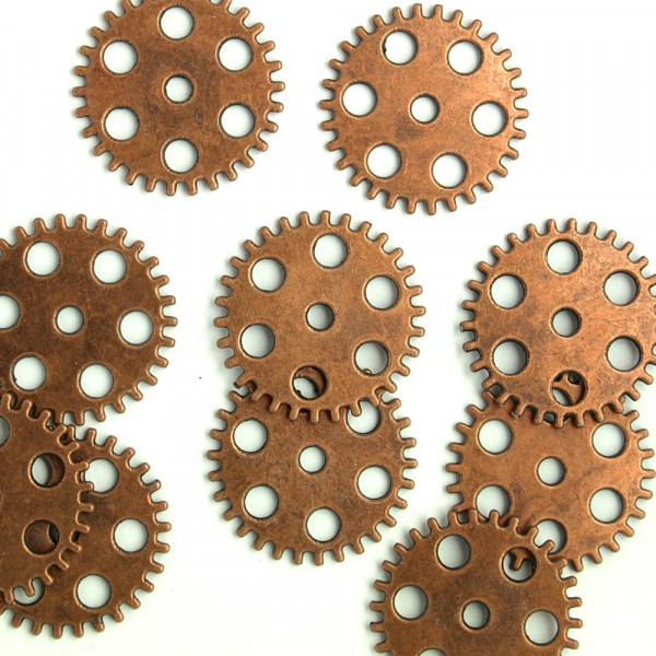 Kupfer zahnräder