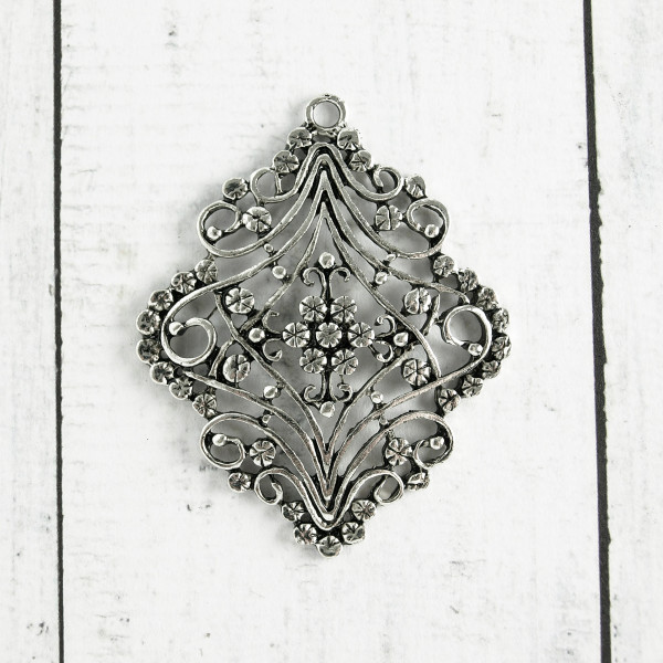 Filigraner Ornament anhänher diy schmuck basteln material kaufen