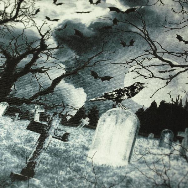 Vorbestellung: Baumwollstoff Friedhof