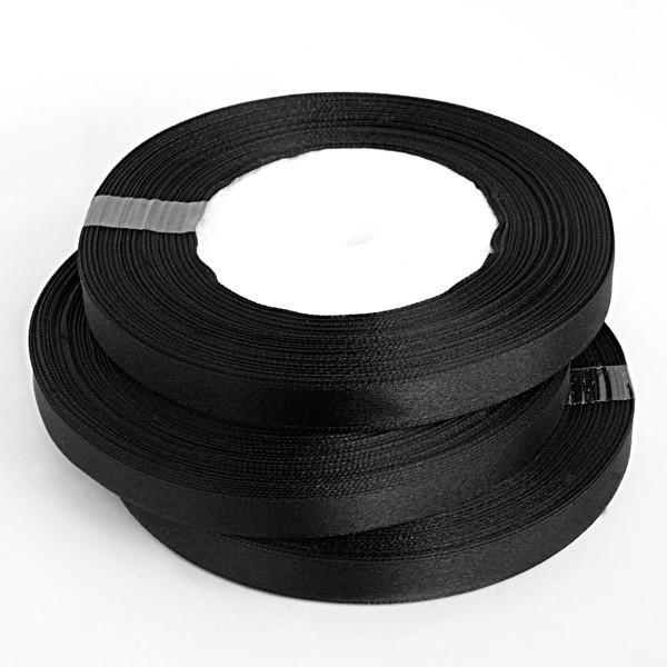 Rolle Satinband 30m schwarz kaufen