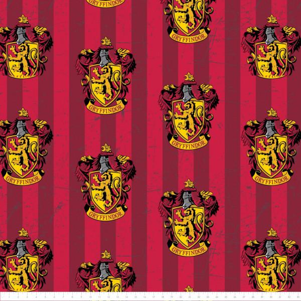 Baumwollstoff Harry Potter Gryffindor