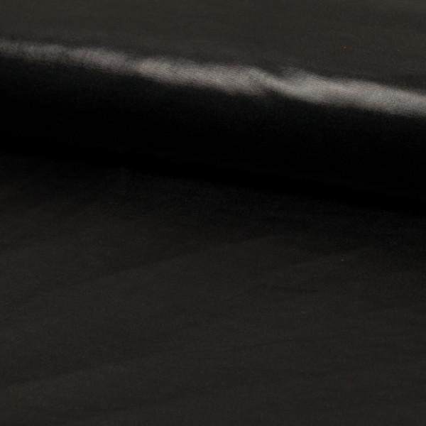 Folienjersey schwarz