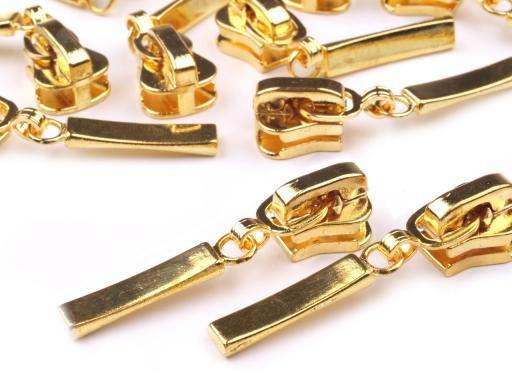 5mm Zipper Reißverschlüsse Goldfarben