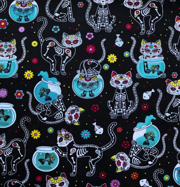 Webware Skelett Katzen