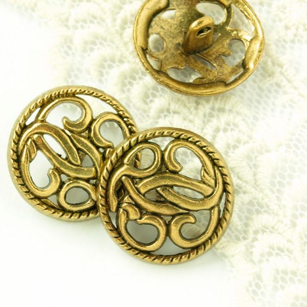 Knöpfe Ornamente Gold kaufen günstig