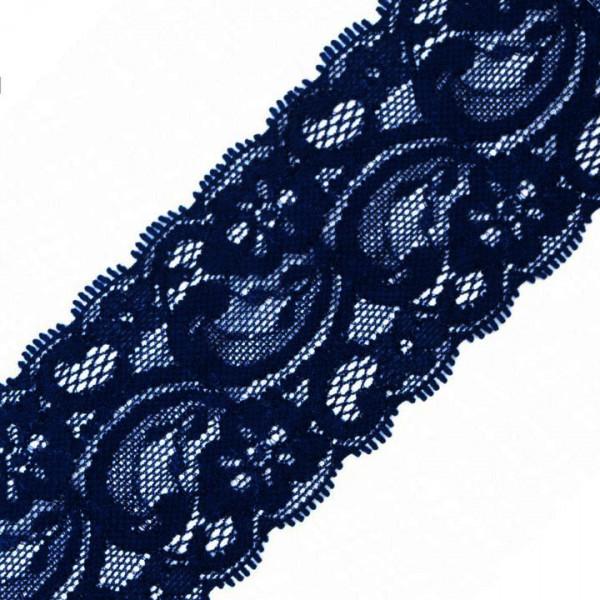 Spitze elastisch 55mm dunkelblau