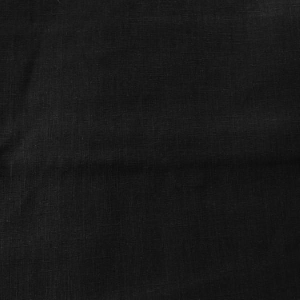 Leinen schwarz
