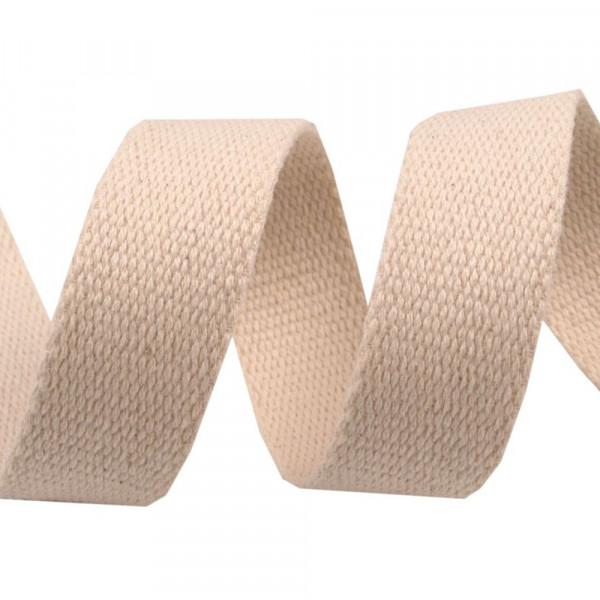 Gurtband 30mm Natur