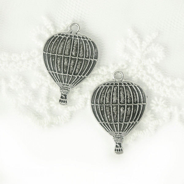 Ballon Heißluftballon Charm Steampunk Vintage