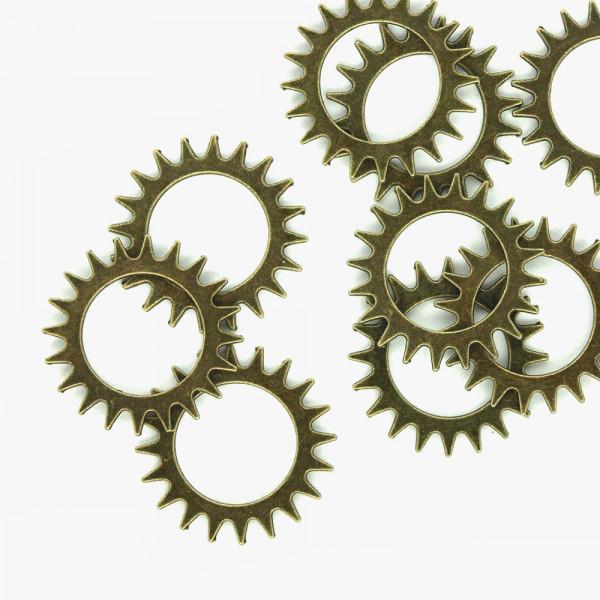 Zahnräder Steampunk Uhren Teile kaufen günstig Mengenrabatt Konvolut