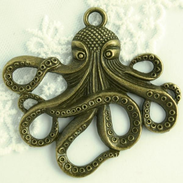 Anhänger Octopus Steampunk Schmuck kaufen günstig