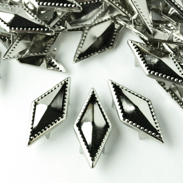 Nieten silber Diamant Novelty Neu Raute basteln