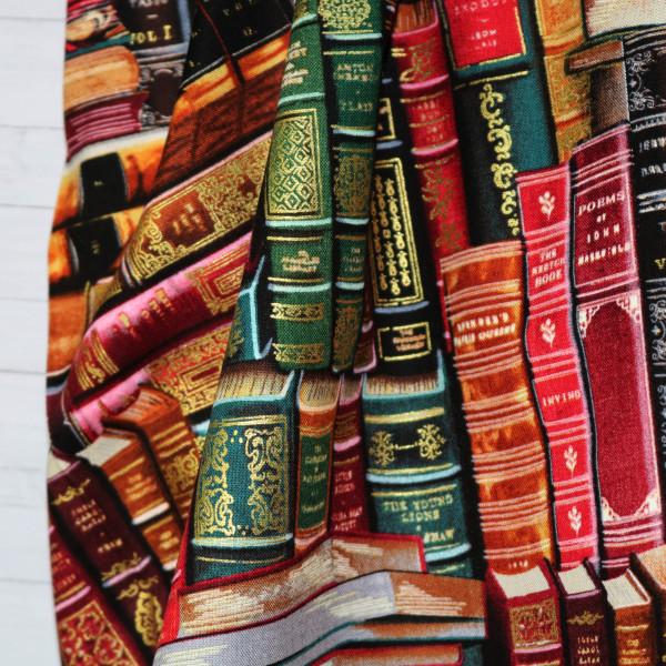 Webstoff Bücher Gold