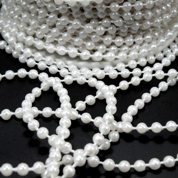 Perlenkette Band Kette günstig kaufen basteln meterware