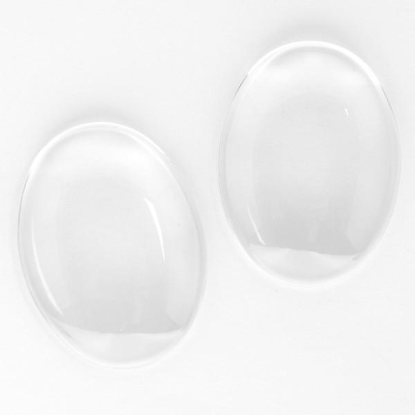 Kamme 30x40mm klassisch 3D glas transparent durchsichtig foto