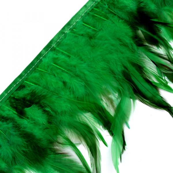 Federborte grün günstig Kragen kostüm Karneval Fasching