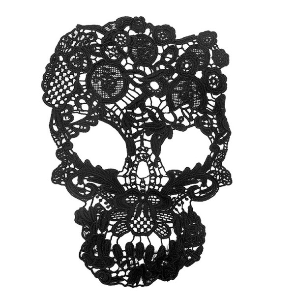 Totenkopf Skull Spitze Schwarz