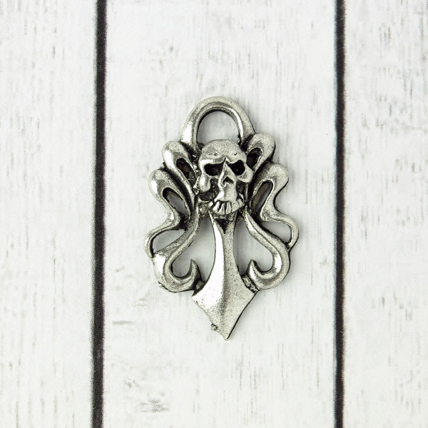 skull ornamente charm anhänger schmuck diy gothic