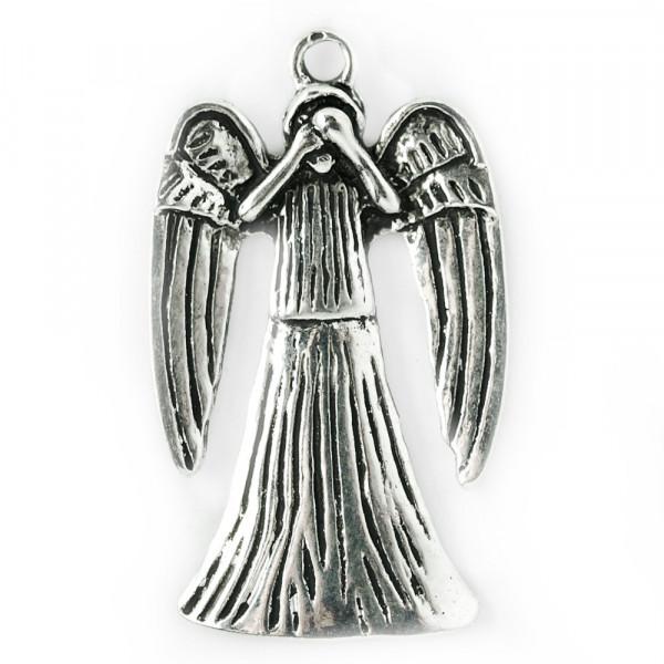 anhänger, schmuck, kette, silber, material, kaufen, weeping, who, engel