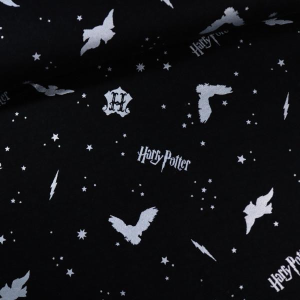 Flanell Metallic Harry Potter Lizenz
