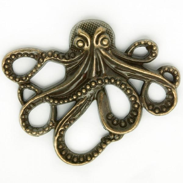 Anhänger Octopus Steampunk Element Ornament Schmuck DIY Material kaufen