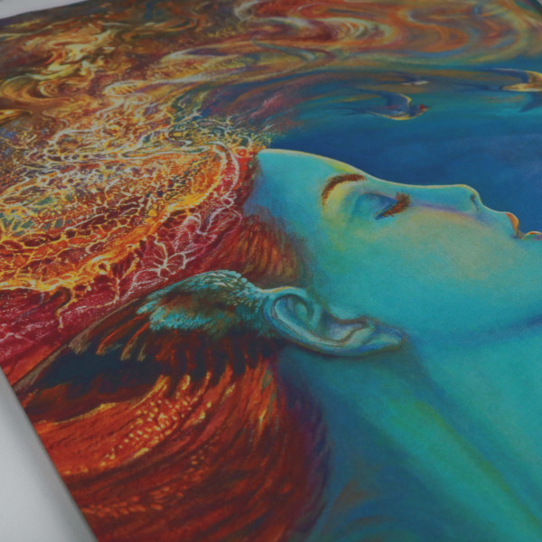 "XL Art Panel ""Spirit of Flight"" Josephine Wall"