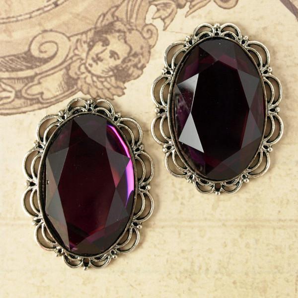 Juwelen III Silber / Violett
