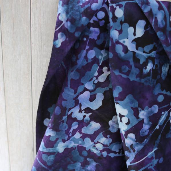 Webare Purple Splash Handgefärbt neu