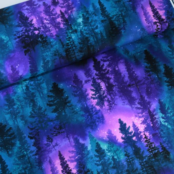 Baumwollstoff Galaxy Wald