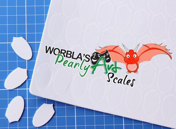 Vorbestellung: Pearly Art Scales Schuppen Sheet Drachen Mermaid