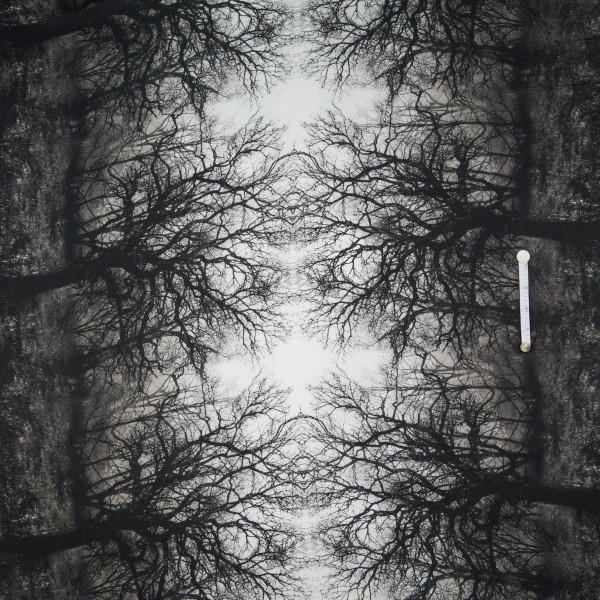 Leichter Blusenstoff Bäume Wald