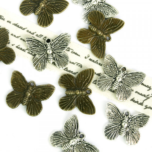 Anhänger Charms Schmetterling