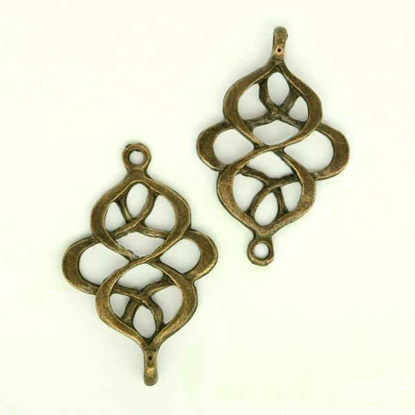 schmuck verbinder ornament knoten keltisch schmuck basteln