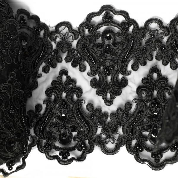 Borte, gothic, opulent, designer, stickerei, breit, 20cm, korsett, kaufen, abendmode