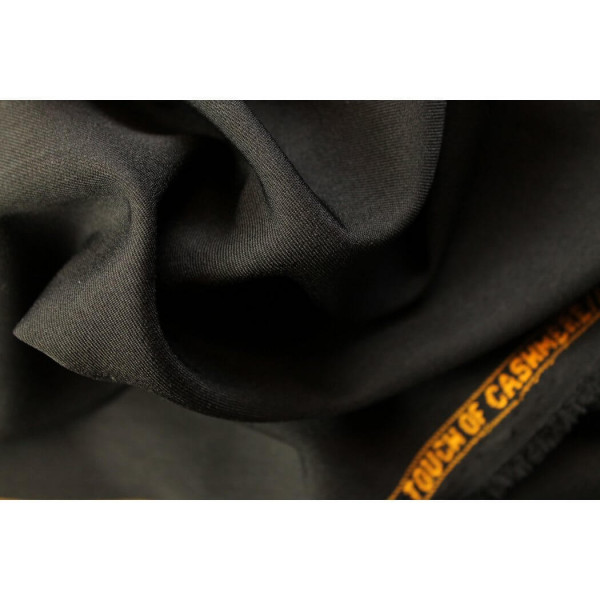 """Touch of Cashmere"" Uni Schwarz"