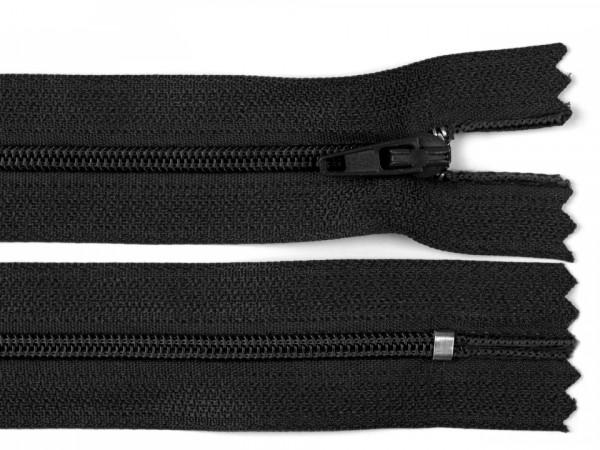 Reißverschluss 22cm schwarz