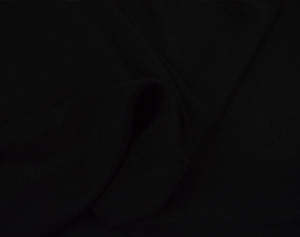 Chiffon meterware schwarz