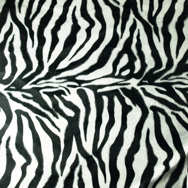 Zebra Stoff Fellimitat diy kaufen