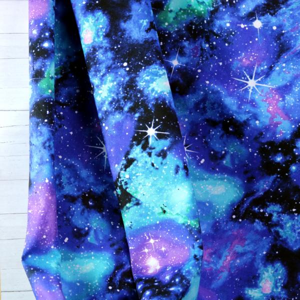 Baumwollstoff Vibrant Galaxy
