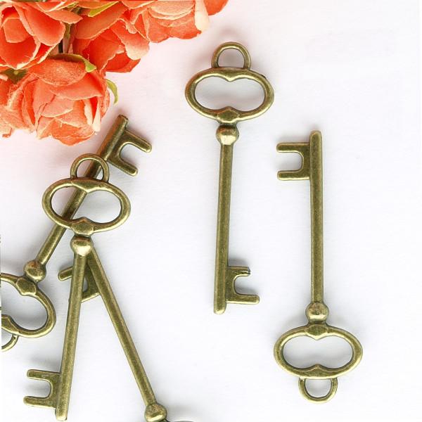 Schlüssel Schmuck Anhänger Vintage Charm selber machen