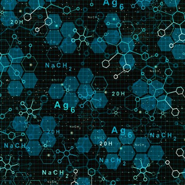 Webware Science Fair schwarz blau