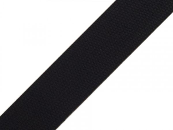 Gurtband 30mm Schwarz BW
