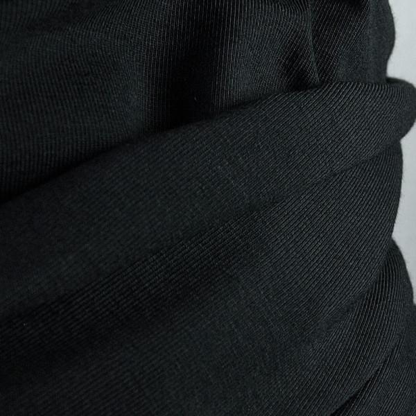 Jersey Schwarz Uni