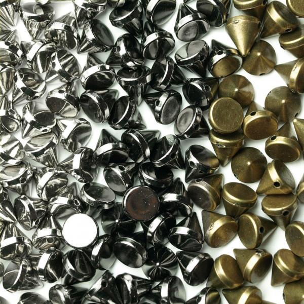 Nieten Perlen kaufen diy metal punk gothic selber machen